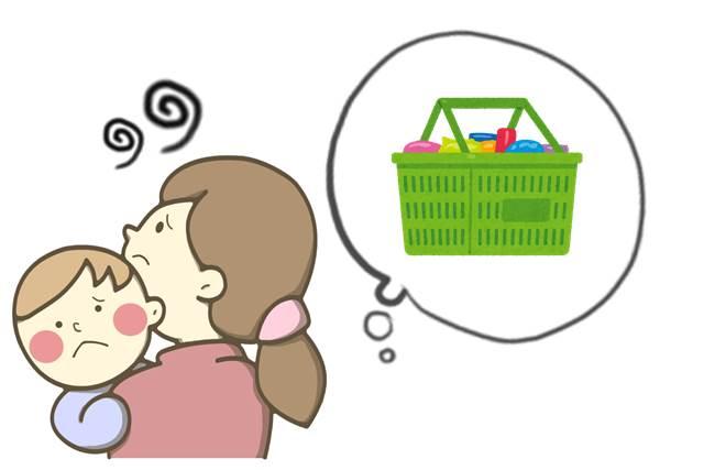 産後すぐの買い物