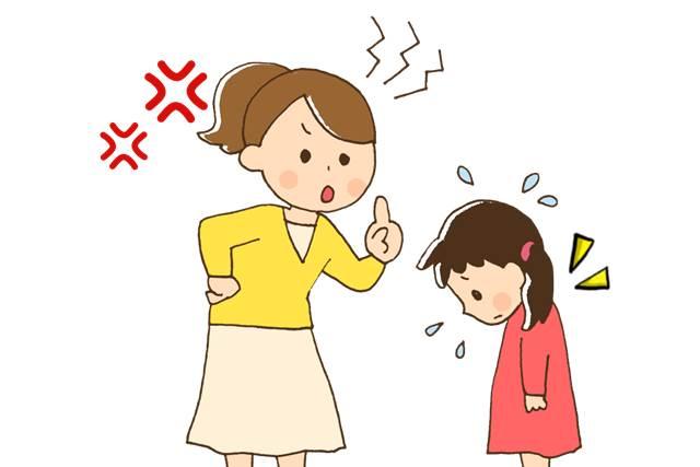怒りっぽい親