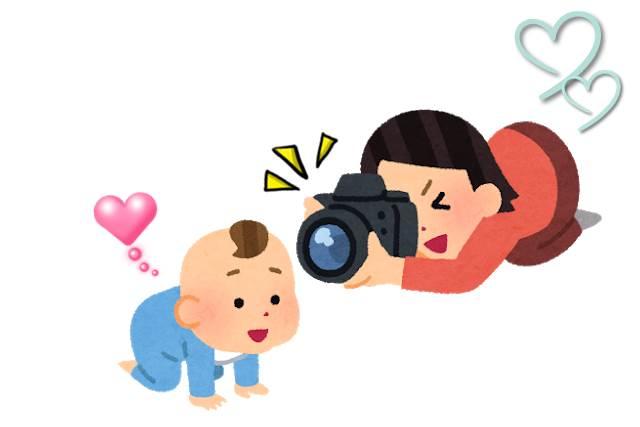 赤ちゃんの写真を可愛く撮る方法