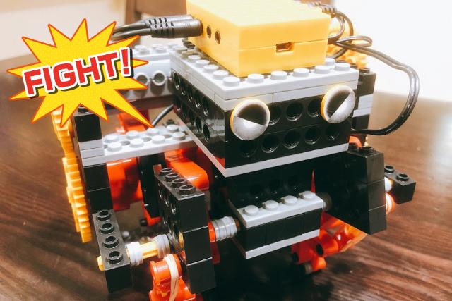 ロボット教室で作ったロボット