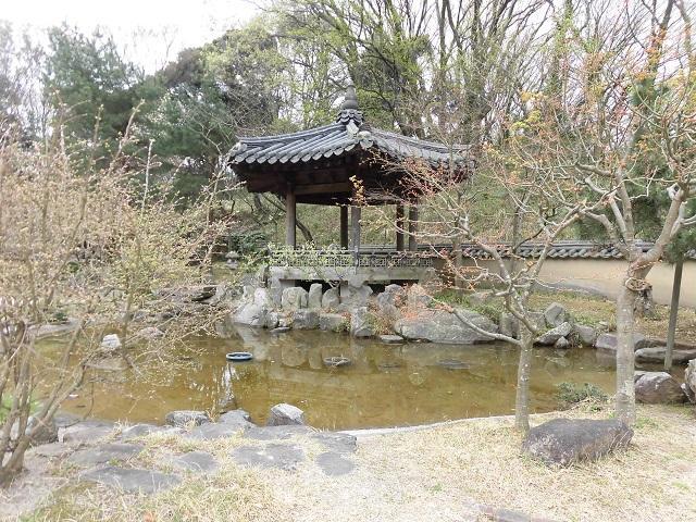 県立三ツ池公園 コリア庭園 庭