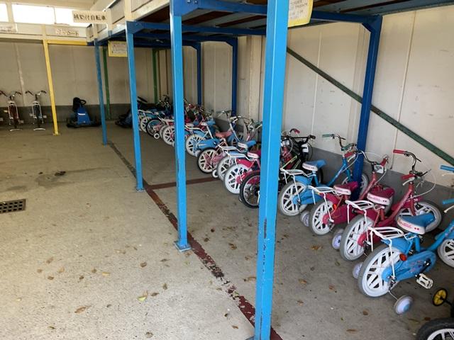 萩中公園 自転車