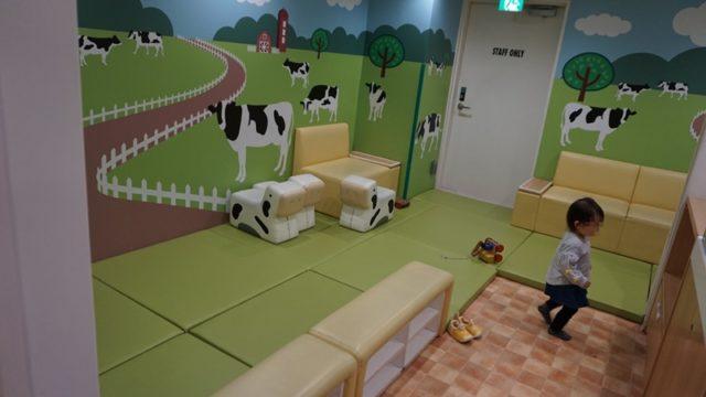 キッザニア東京の子供の遊びスペース