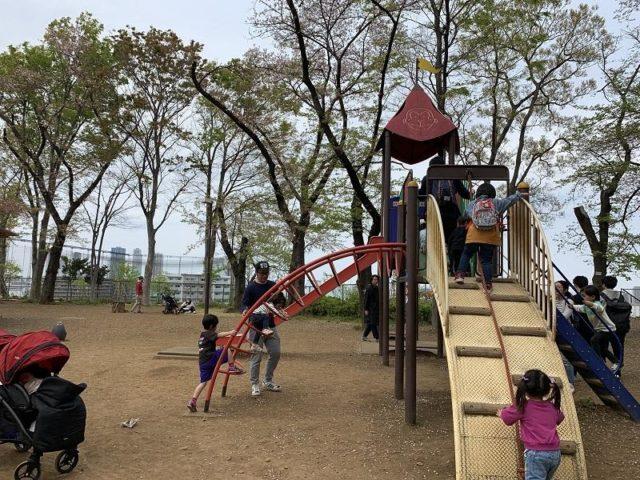 夢見ヶ崎動物公園の遊具