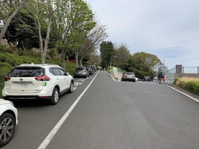 夢見ヶ崎動物公園の駐車場